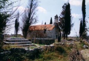 Oštečena u domovinskom ratu. sv.Luka - Škabrnja